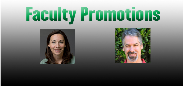 EAPS Faculty Members Promoted