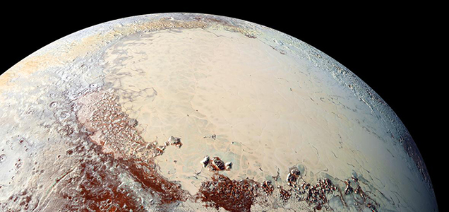 EAPS team finds convection could produce Pluto's polygons