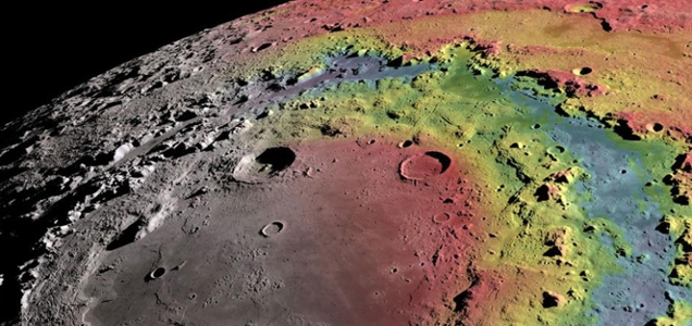 Model for Orientale lunar basin formation published in Science